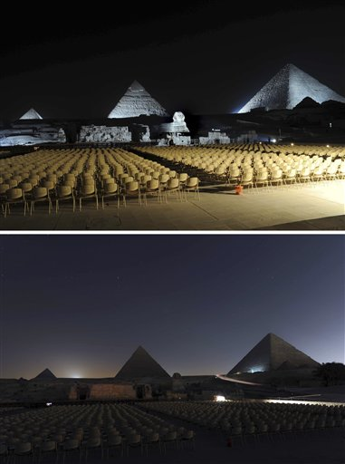 Egypt Earth Hour