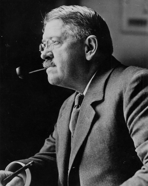 George A. Reisner (1867-1942), photographed on June 26, 1933.